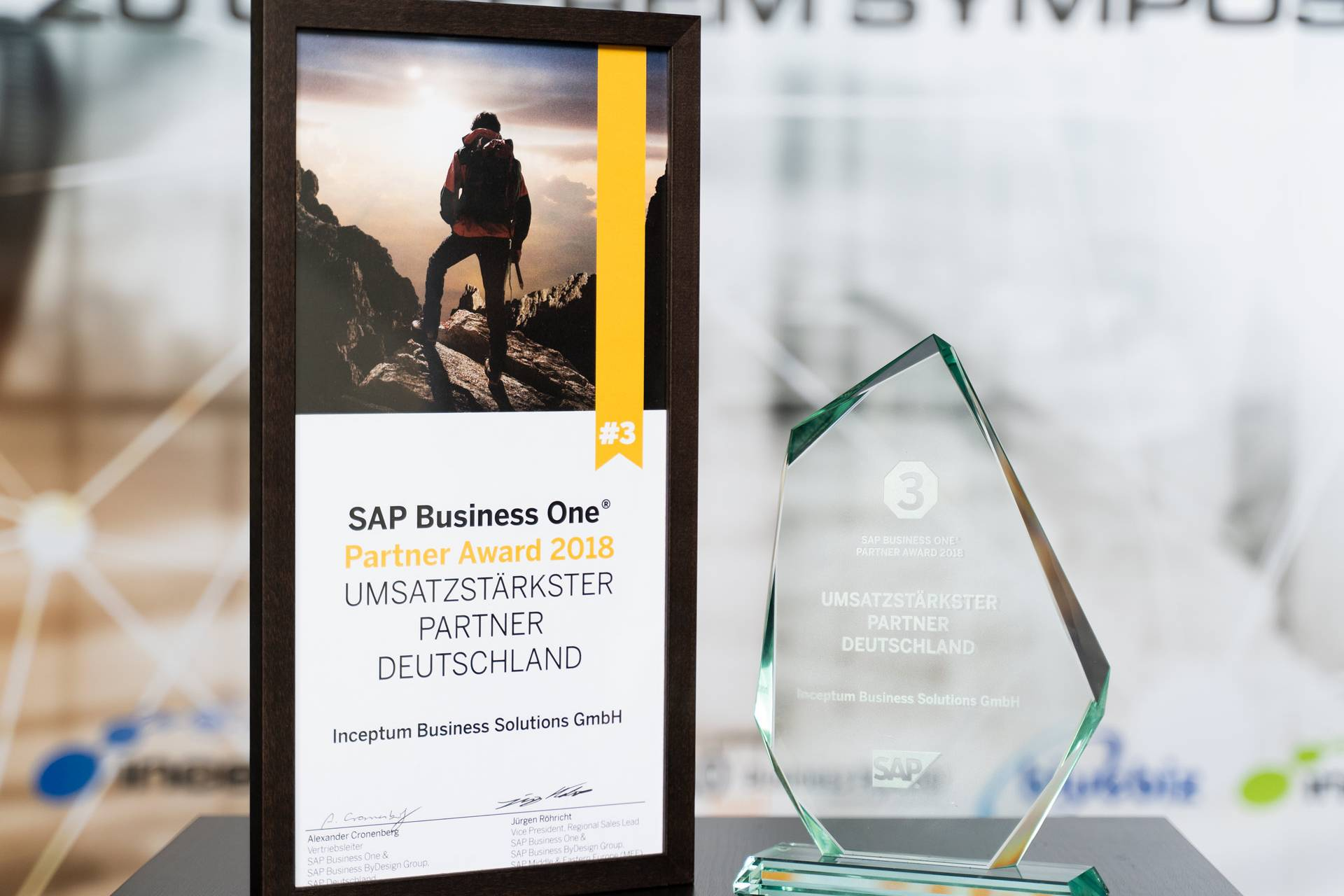 Umsatzstärksterpartner SAP Business One