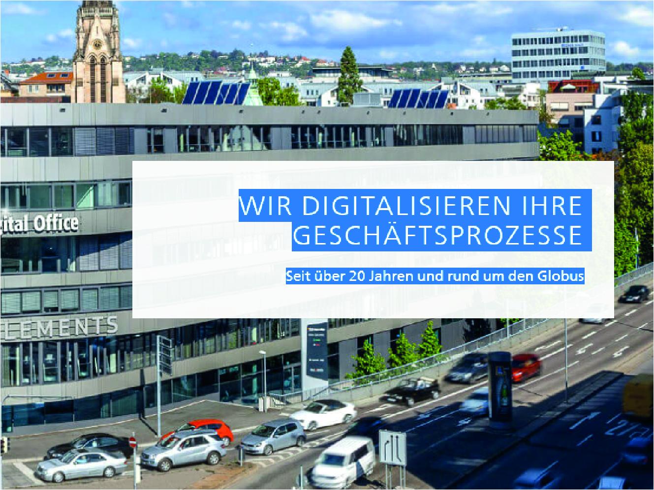 Digitalisierung Geschäftsprozesse